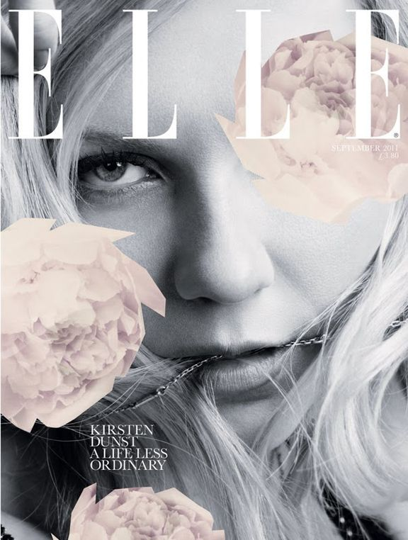 This is such a great cover and I absolutely love this photo!!! Kirstin Dunst looks gorgeous!