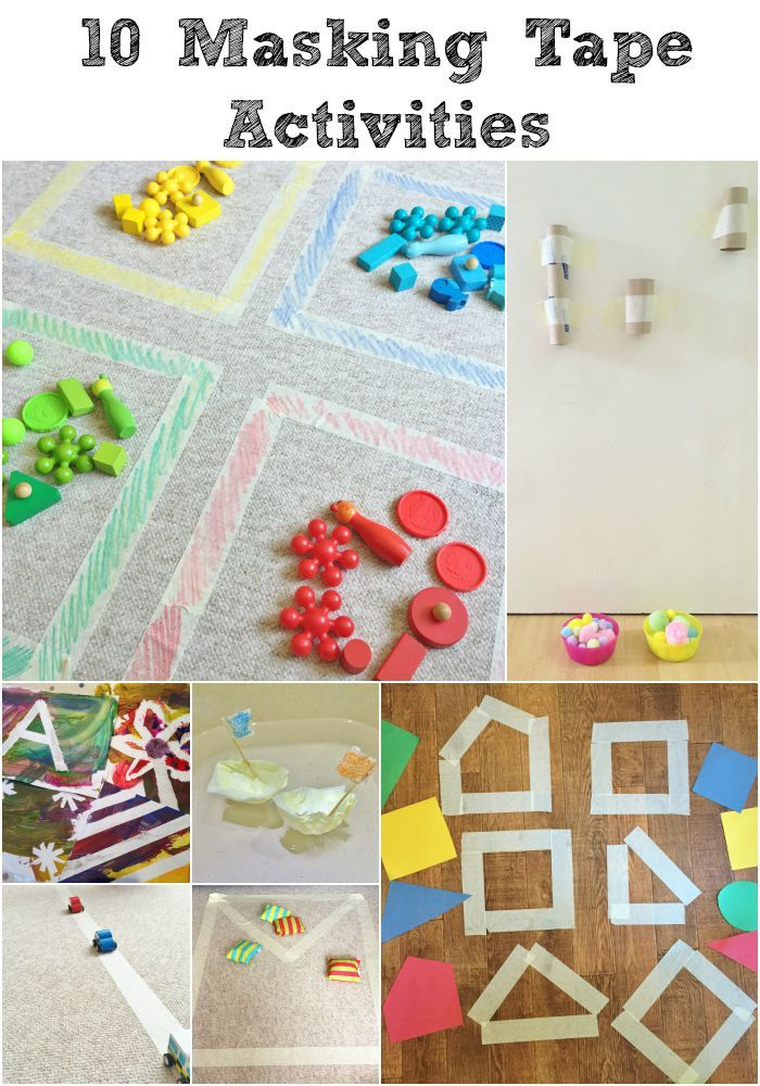 10 quick, easy and cheap things to do with MASKING TAPE!