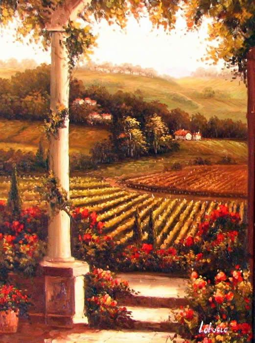 185 Best Images About Tuscany Paintings On Pinterest
