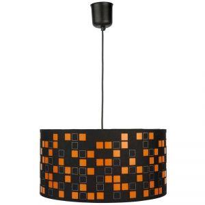 suspension de plafond vintage aquilon luminaire orange et noir top tendance id e luminaires. Black Bedroom Furniture Sets. Home Design Ideas