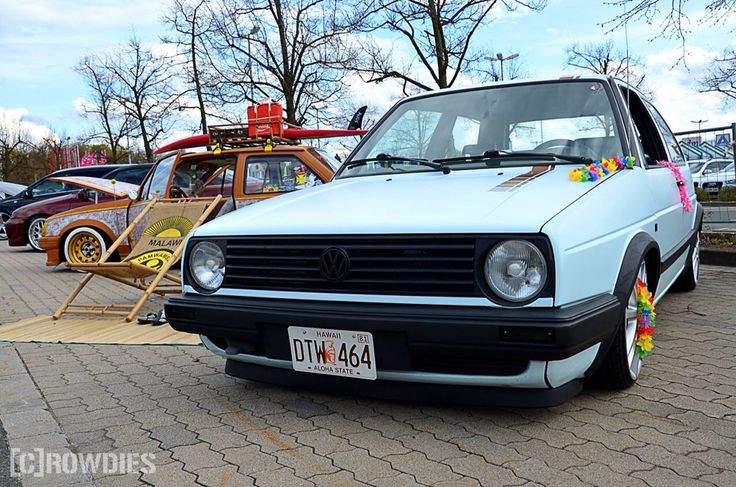 Tuning Adventure 1.0 Plauen  #tuning #crowdies #vw #mk2 #lowschool