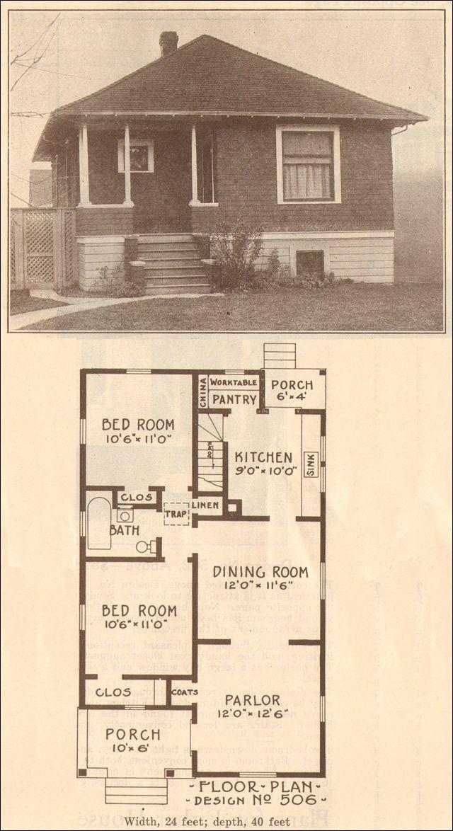 1915 craftsman bungalow floor plans for Kit home designs wa