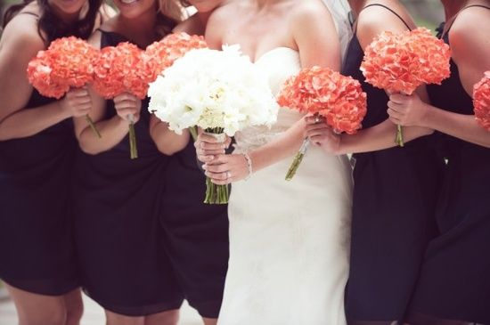 Navy And Coral Wedding Colors: 17 Best Images About Navy & Coral Wedding Theme On