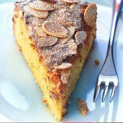 Ciasto migdałowo-pomarańczowe