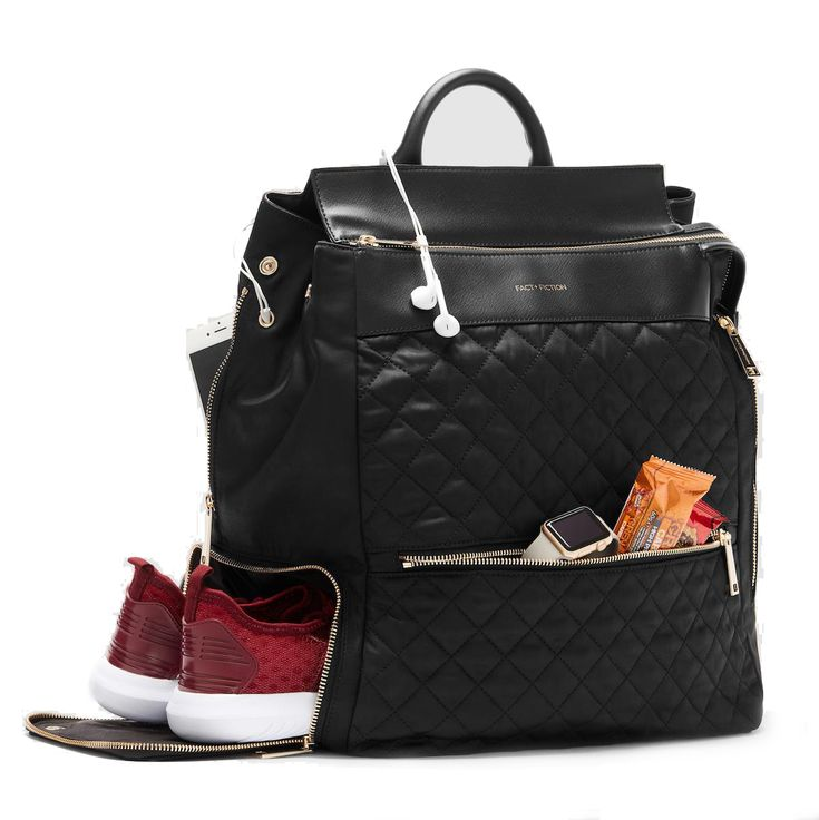 Fact + Fiction Charli Quilt, £135. The ultimate stylish, functional gym bag,