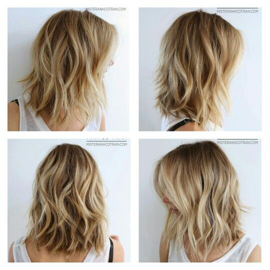 how to cut your own medium length hair in layers