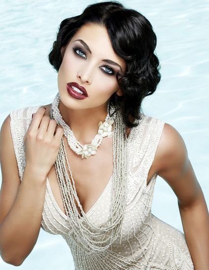Miss Utah USA 2013. Hair by CHI | Farouk Systems #Gatsby theme