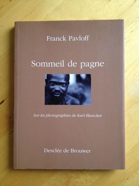#photographie : Un sommeil de pagne : Sur les photographies de Karl Blanchet - Franck Pavloff. Les photographies de Karl Blanchet ont fixé les regards de femmes, d'hommes et d'enfants reclus dans un hôpital psychiatrique au Togo. Ce sont ces êtres anonymes que Franck Pavloff, l'auteur de Matin brun, a choisi de sortir un instant du cercle de la démence et de l'enfermement. De cette rencontre des mots et des images jaillit une colère sourde et digne. (...)