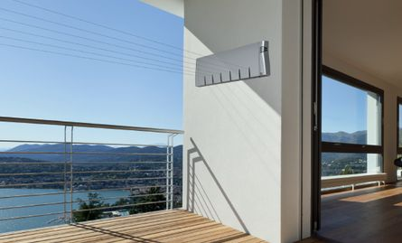 Hills Slim Retracting 6 Clothes Line. Balcony option? Good for apartments #laundry