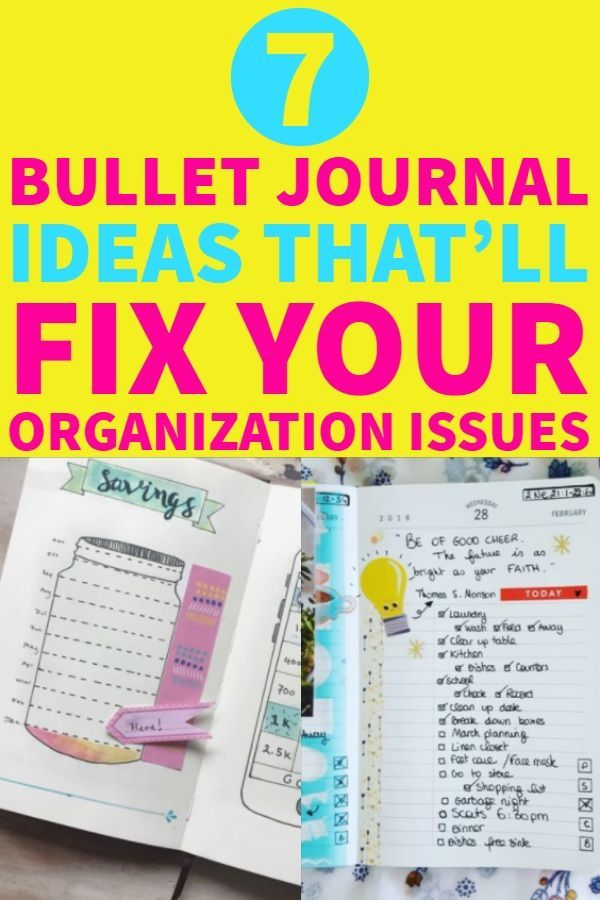 Organization issues? Here you can find the best bullet journal inspiration to keep up with your life #bulletjournal #bujoinspire #bujolove