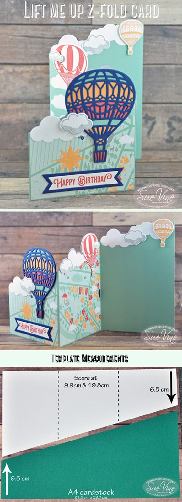 Miss Pinks Craft Spot: z-Fold card dimensions
