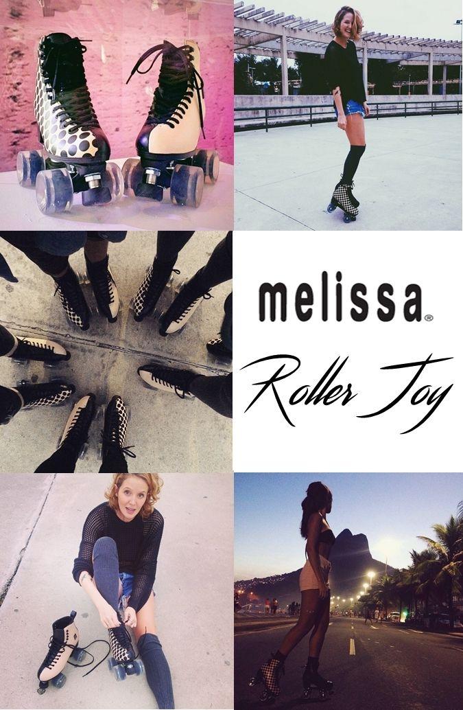 Patins Melissa: Roller Joy.