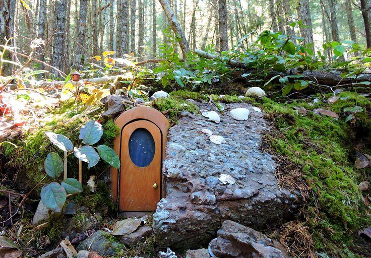 Enchanted Fairy Door Trail On Salt Spring Island
