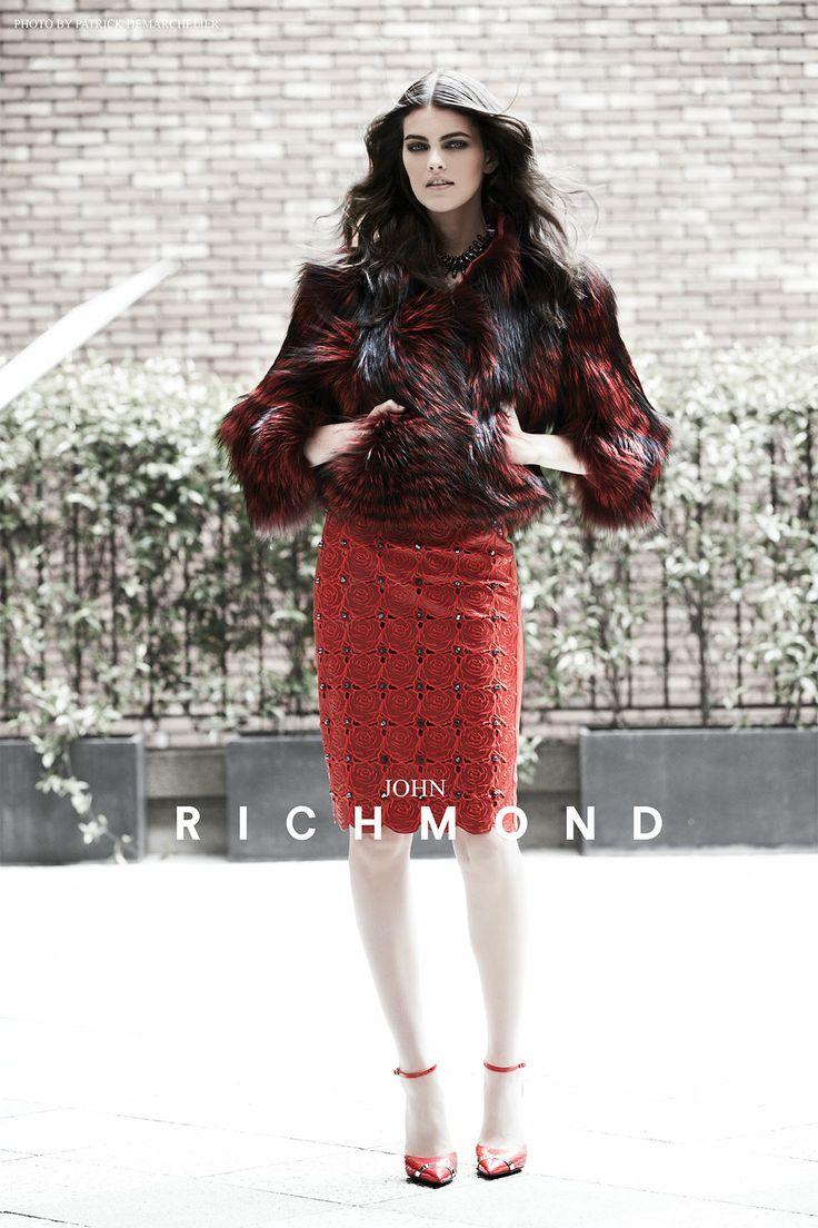 Joh Richmond ADV Fall/Winter 2013-2014 by Patrick Demarchelier! http://www.johnrichmond.com/it/press/adv-fw2013-14.html #PatrickDemarchelier #photo #AVD #2013-2014 #johnrichmond
