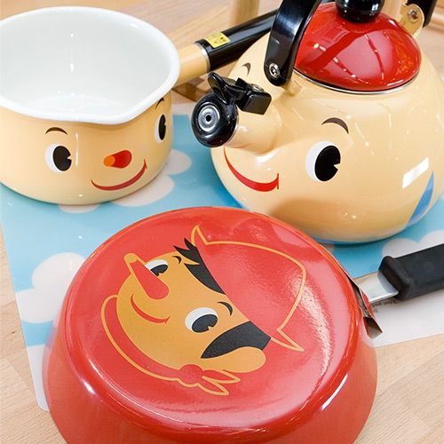 Pinocchio Kawaii Kitchen Ware Set By Sugarland In Japan; Love The Teapot!  So Cute And Kitsch Like A Disney Beauty And The Beast Kitchen,now Your  Dreams Can ...