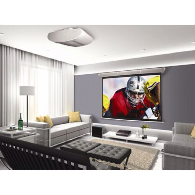 HD projector and screen