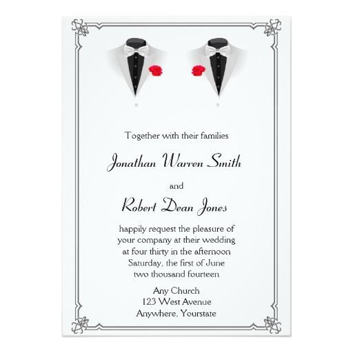 See more of Gay Wedding Invitations on Facebook