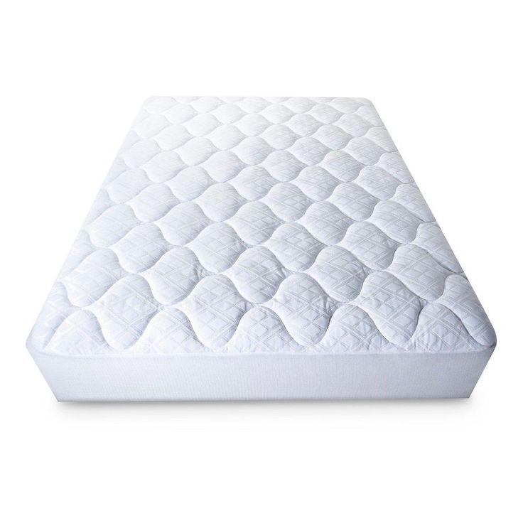 Ultimate Comfort Mattress Pad White California King Fieldcrest