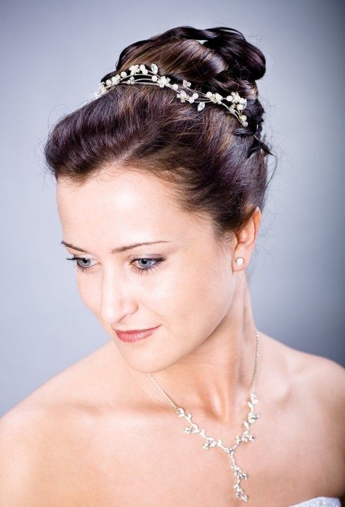 62 best bridal hairstyles images on pinterest bridal hairstyles winter wedding updo hairstyles junglespirit Gallery