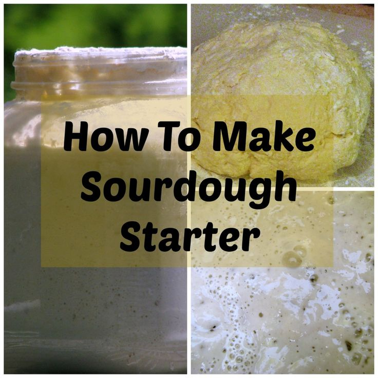 How to Make a Sourdough Starter - This gives details on making, using and letting starter rest.