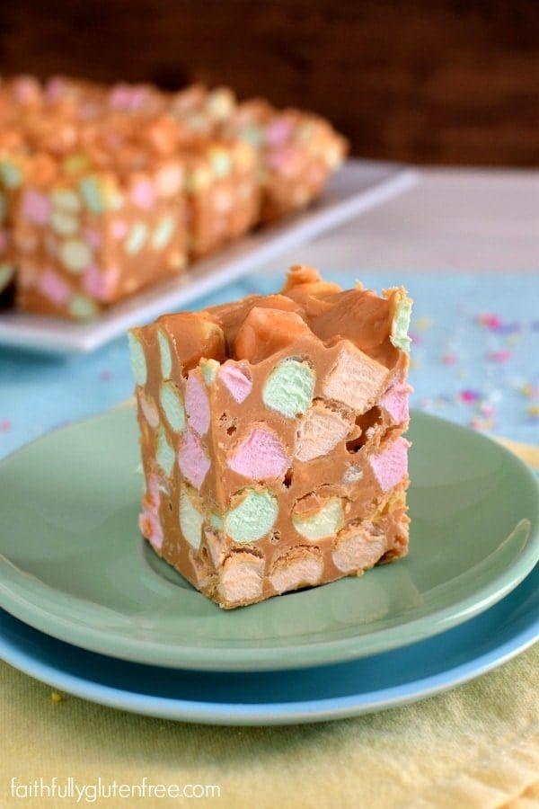 Peanut Butter Confetti Squares Recipe Gluten Free Peanut Butter Baking Dessert Recipes