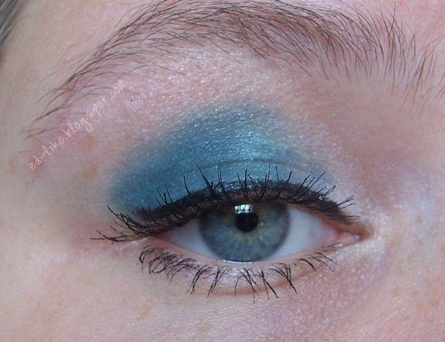 Ed-like, czyli o wszystkim co lubię!: Późno, po przerwie - makijaż oczu.