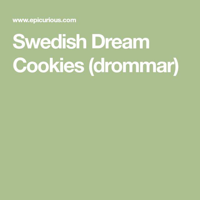 Swedish Dream Cookies (drommar)