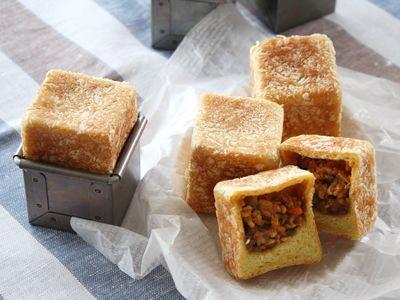 キューブ・ミニ焼きカレーパン