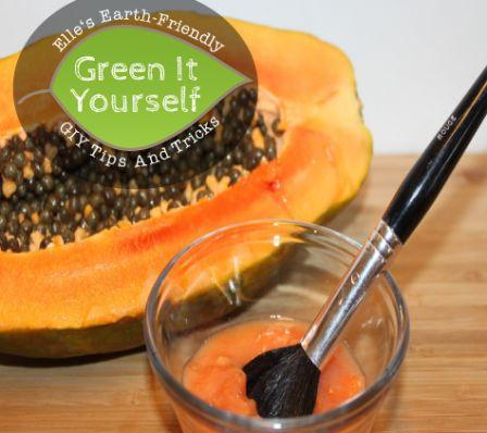 Skin Brightening Papaya Face Mask