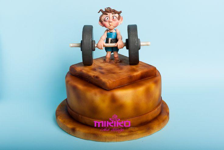 Powerlifting Birthday Cake