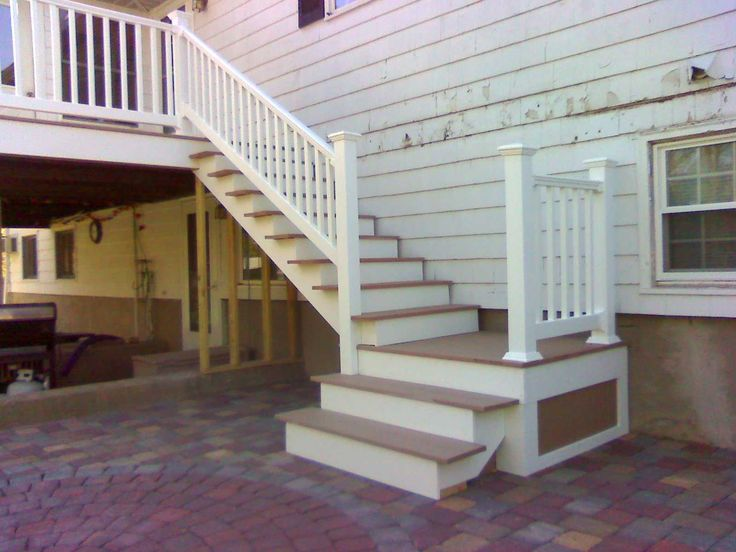 1000  Images About Deck Stairs And Patio On Pinterest