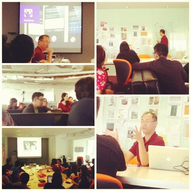 Tay Guan Hin visits JWT Manila