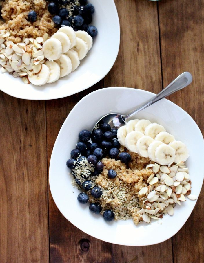 Such a simple, beautiful breakfast bowl