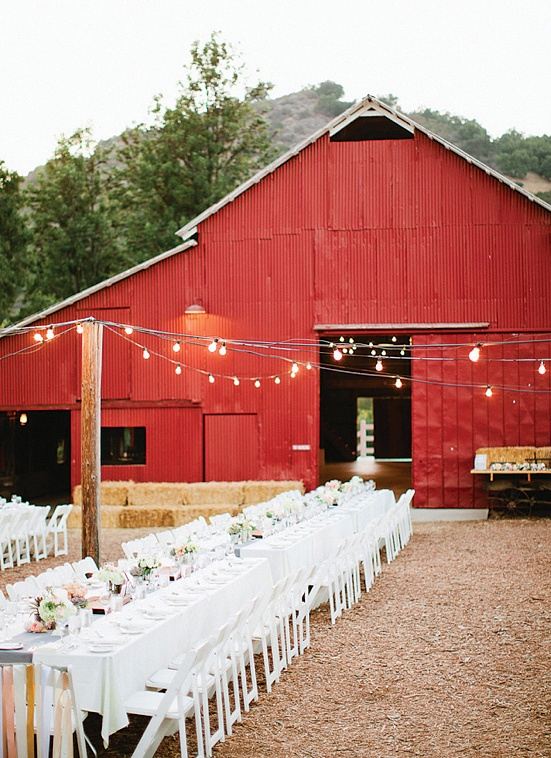 Wedding Venue: The Big Red Barn at the Ojai Valley Inn ...