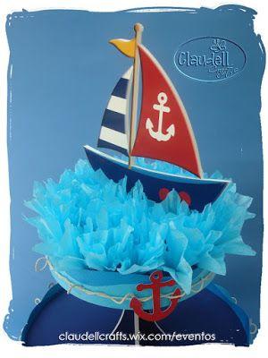 Claudell Crafts: +Fiesta Temática: Náutica+
