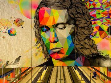 Lo mejor del arte urbano que se esconde en el Metro de Madrid