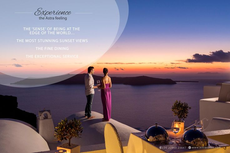 Astra Santorini fine #dining equals pure serenity, stunning #sunsets and impeccable #service to enhance that heavenly Astra feeling!  #astra #suietes #summer #sunset #sea #view #travel #santorini