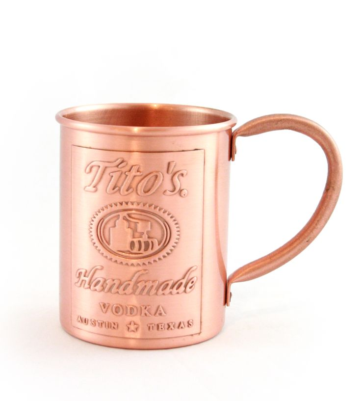 Tito's copper mug LOVE!