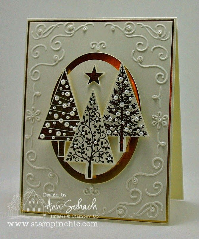 Festival of Trees for The Paper Players The Stampin' Schach