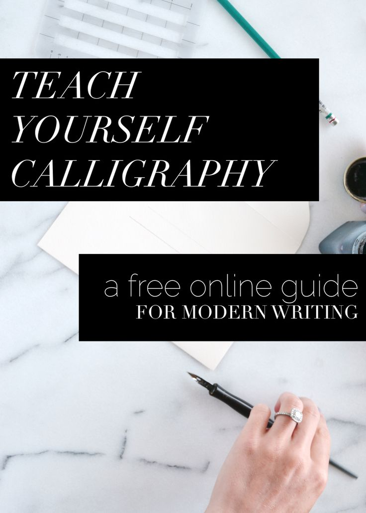 25 best ideas about calligraphy course on pinterest