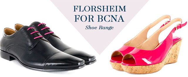 Florsheim Australia launch range of shoes for Breast Cancer Awareness Month