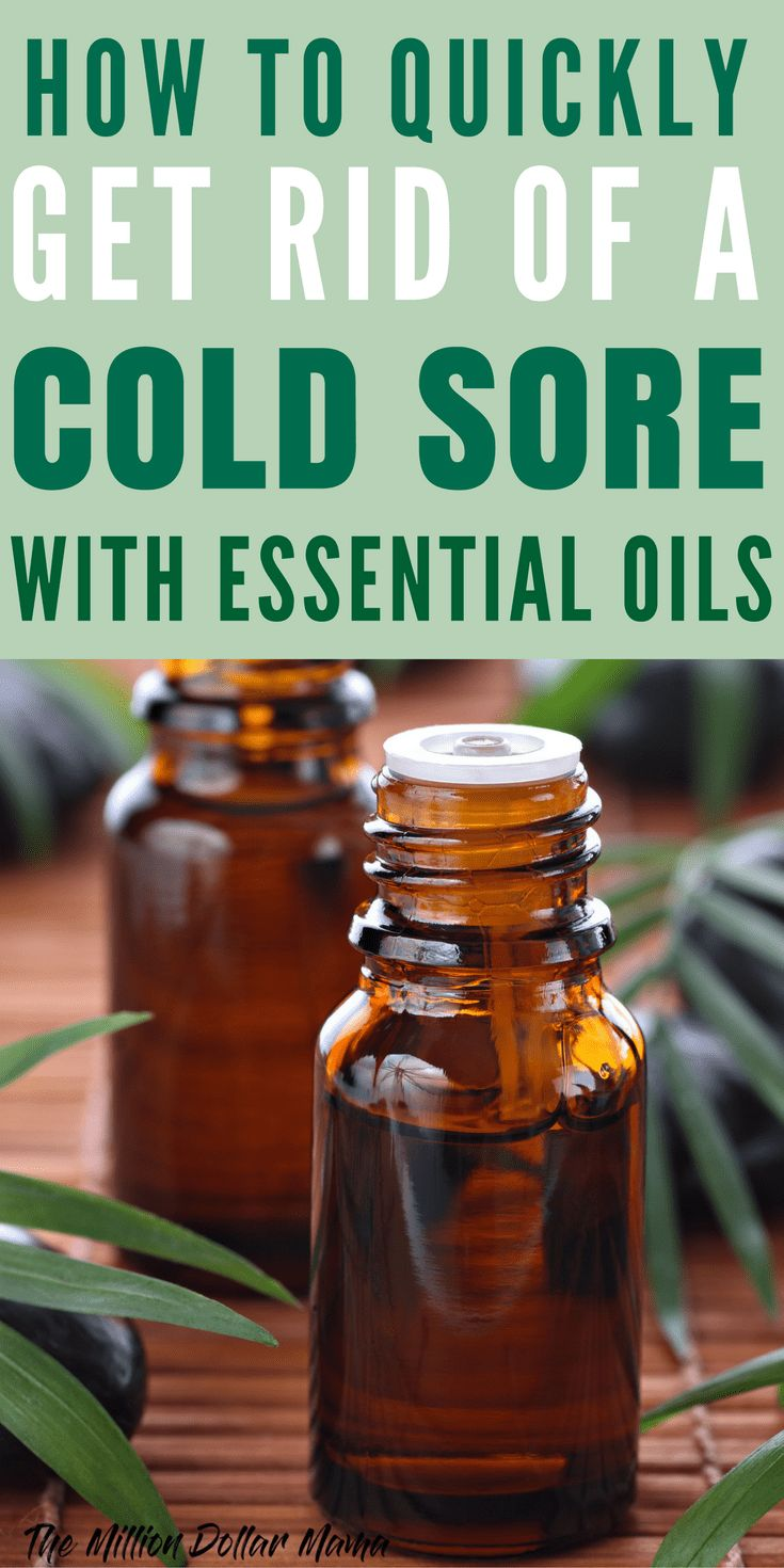 A home remedy for cold sores that works fast natural