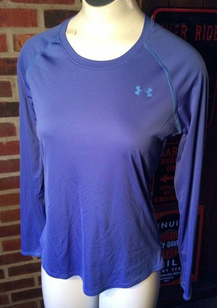 5efd8d9fa Under Armour Aqua Blue Long Sleeve Compression Shirt Women's Medium VGC # Underarmour #ShirtsTops