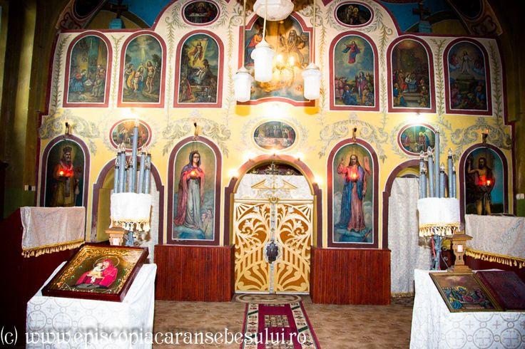 "Romanian Orthodox Church ""Falling Asleep of the Ever-Virgin Mary"" from Prilipeț, Caraș-Severin County, Romania The Church was built in 1831. Romanian Orthodox Diocese of Caransebeș."