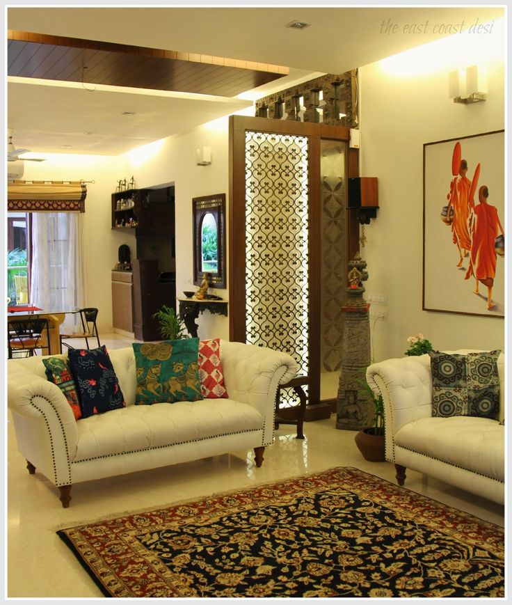 Best 25 partition design ideas on pinterest divider - Indian house interior designs ...