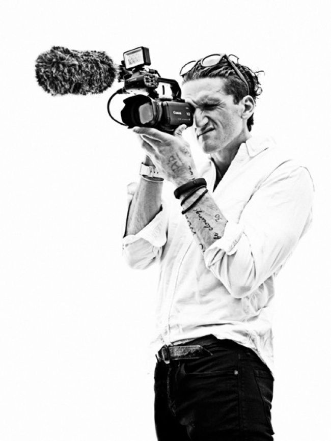 Film extraordinaire Casey Neistat- if you haven't seen his YouTube videos, you are in for an awesome treat! https://www.youtube.com/user/caseyneistat/featured