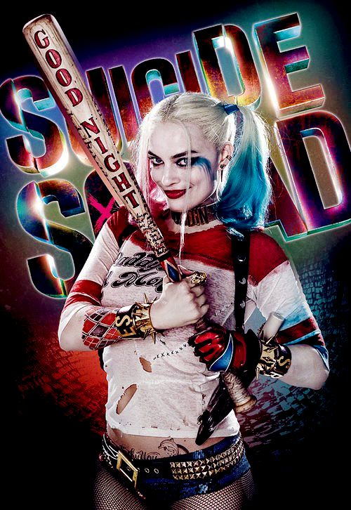 """ ""New Suicide Squad Harley Quinn poster "" """