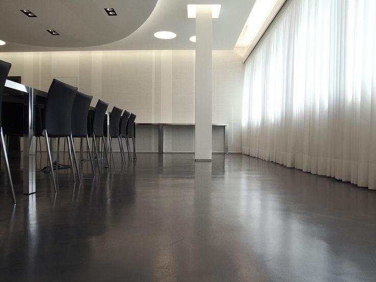 Progetto della sala riunioni della rsi a comano progetto for Architettura arredamento d interni