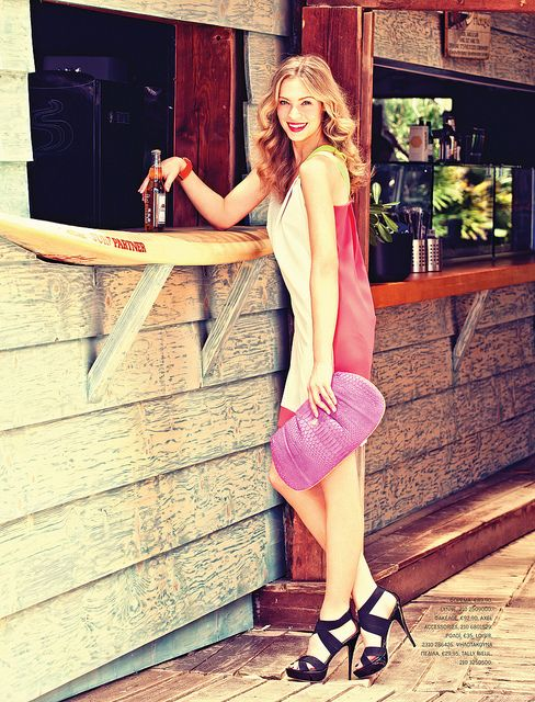 LUCKY MAGAZINE Greece, MODEL ROXANNA REDFOOT, fashion cult agency, the campbell agency, athens greece, dallas texas, blonde, modeling, fashion, style, editorial, summer 2012, by JessK4, via Flickr