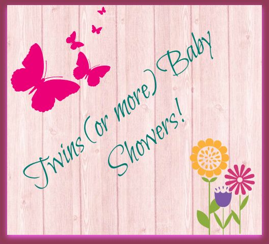 125 Best Images About Twin Baby Showers! On Pinterest